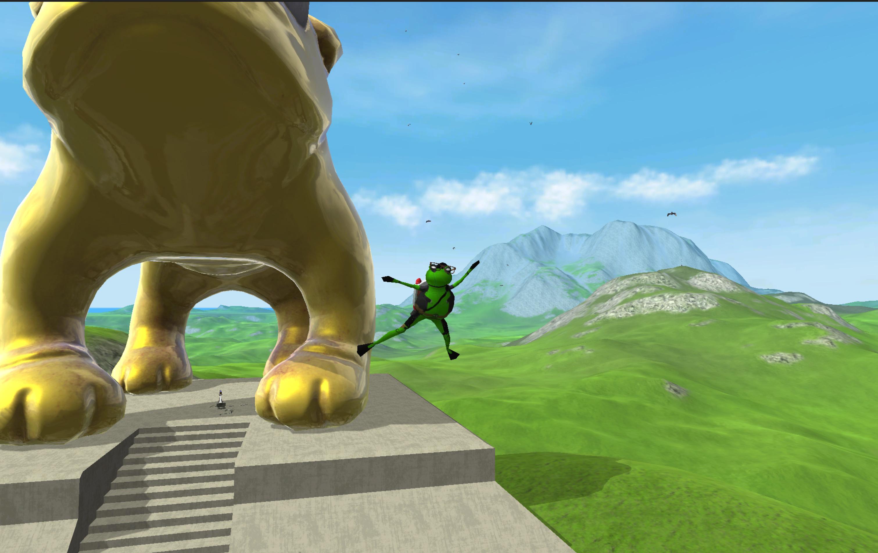 Amazing Frog? Screenshot